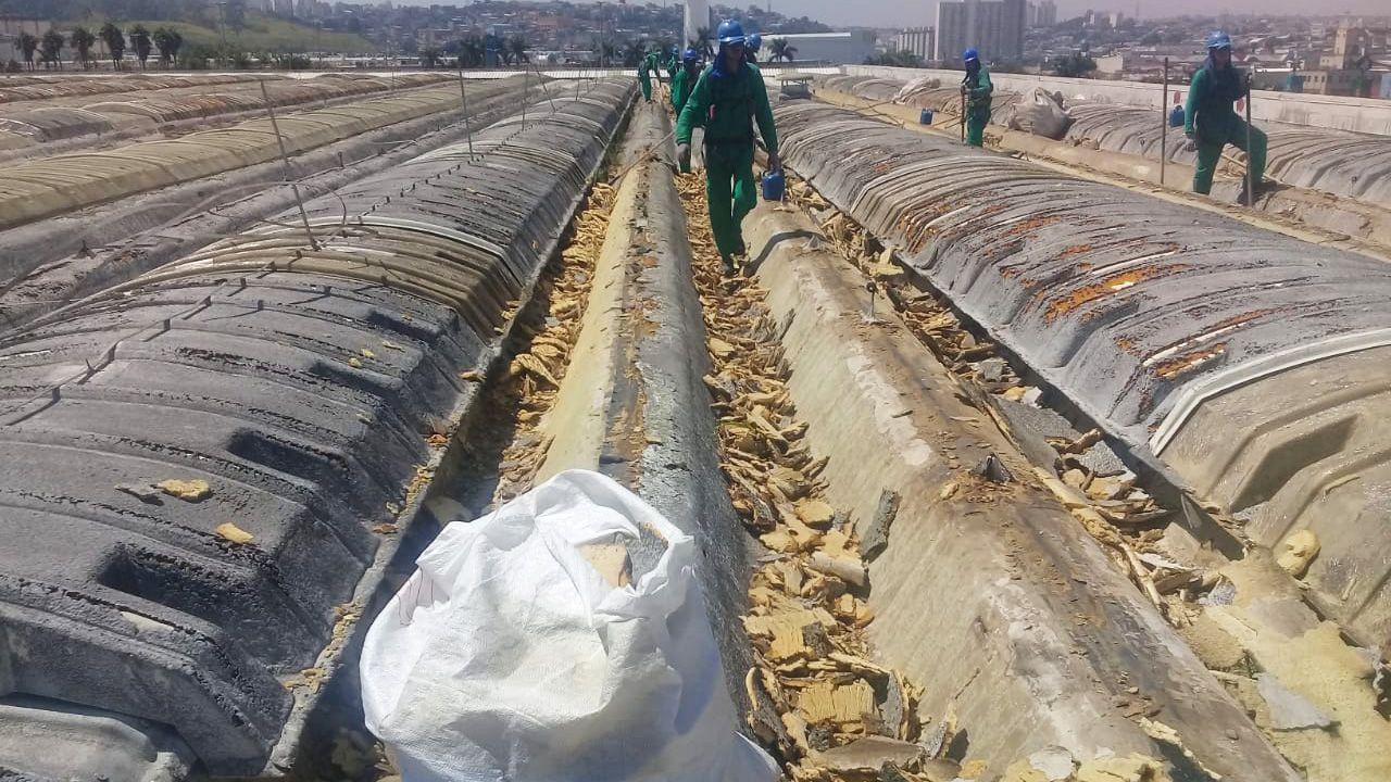 Manutenção de Cobertura Pré-moldada em Concreto em São Paulo